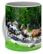 Mohonk Carriage Tour Coffee Mug