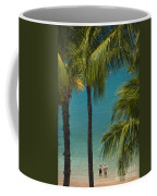 Mokapu Beach Senior Couple Coffee Mug