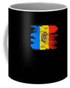 Moldova Gift Country Flag Patriotic Travel Shirt Europe Light Coffee Mug