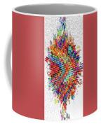 Molecular Floral Abstract Coffee Mug