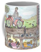 Moles Ringa Ding Ding Coffee Mug