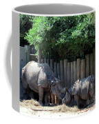 Mom Kissing Baby Coffee Mug