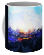 Moment In Blue Spaces Coffee Mug