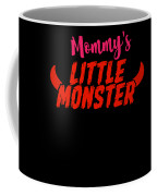 Mommys Little Monster Clothing For Everyone Halloween Scary Love Mom Gift Or Present Sibling Clothi Coffee Mug