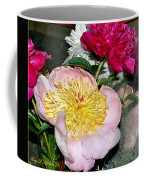 Mom's Peonies Coffee Mug