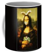 Mona Lisa Bunny Coffee Mug