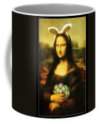 Mona Lisa Easter Bunny Coffee Mug