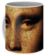 Mona Lisa Eyes 3 Coffee Mug