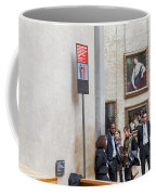 Mona Lisa, Louvre Museum, Paris Coffee Mug