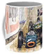 Monaco Gp 1964 Brm Brabham Ferrari Coffee Mug