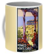 Monaco, Monte Carlo, View From Hotel Terrace Coffee Mug