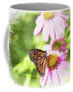 Monarch Butterfly Art Coffee Mug