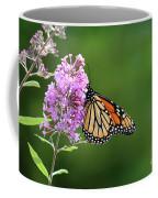 Monarch Butterfly On Butterfly Bush 2011 Coffee Mug