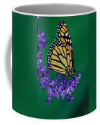 Monarch Butterfly On Flower Blossom Coffee Mug
