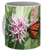 Monarch Butterfly Showy Milkweed Bloom Coffee Mug