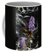 Monarch In Backlighting Coffee Mug by Rob Travis