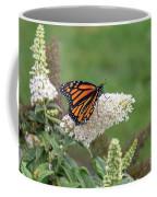 Monarch On A Butterfly Bush Coffee Mug