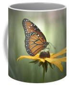 Monarch On A Black Eyed Susan Coffee Mug