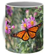 Monarch On Blanket Flower Coffee Mug