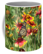 Monarch On Blanketflower Coffee Mug