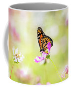 Monarch On Cosmos Coffee Mug