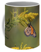 Monarch On Goldenrod Coffee Mug