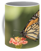 Monarch On Zinnia 4-2015 Coffee Mug