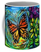 Monarch With Milkweed Coffee Mug