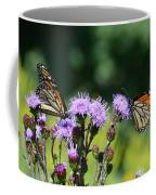 Monarchs And Blazing Star Coffee Mug