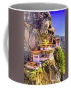 Monastery In Bhutan Coffee Mug