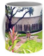 Monastery Of St. Bernard De Clairvaux Garden Coffee Mug