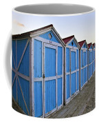 Mondello Beach Cabanas Coffee Mug