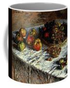 Monet Claude Still Life Apples And Grapes Coffee Mug