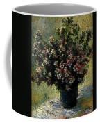 Monet Claude Vase Of Flowers Coffee Mug