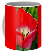Monet Garden Red Tulip Coffee Mug