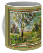 Monetcalia Catus 1 No. 3 Landscape Scene Near Fontainebleau L B With Alt. Decorative Printed Frame. Coffee Mug