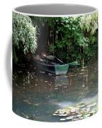 Monets Rowboats Coffee Mug
