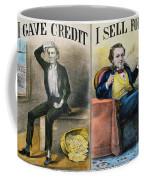 Money Lending, 1870 Coffee Mug
