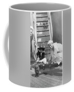 Monkey On The Ship Coffee Mug