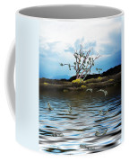 Money Tree On A Windy Day Coffee Mug