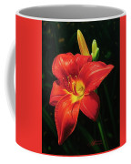 Monikas Red Lily Coffee Mug