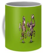 Monkey Dance Coffee Mug