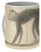 Monkey Coffee Mug by Georges-Pierre Seurat