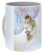 Monkey In Meditation Coffee Mug
