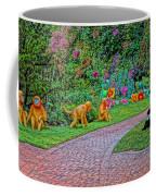 Monkeys And Pandas Coffee Mug