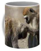Monkeys Grooming Coffee Mug