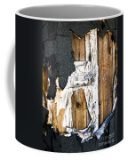 Mono Hut Wall Coffee Mug