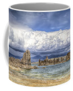 Mono Lake Tufas And Clouds Coffee Mug