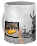 Monochromatic Concept Travel To Netherlands Coffee Mug