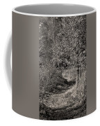 Monochrome Autumn October Coffee Mug